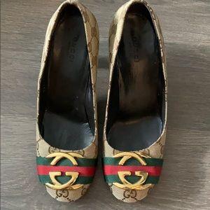 Gucci shoes size 36.5